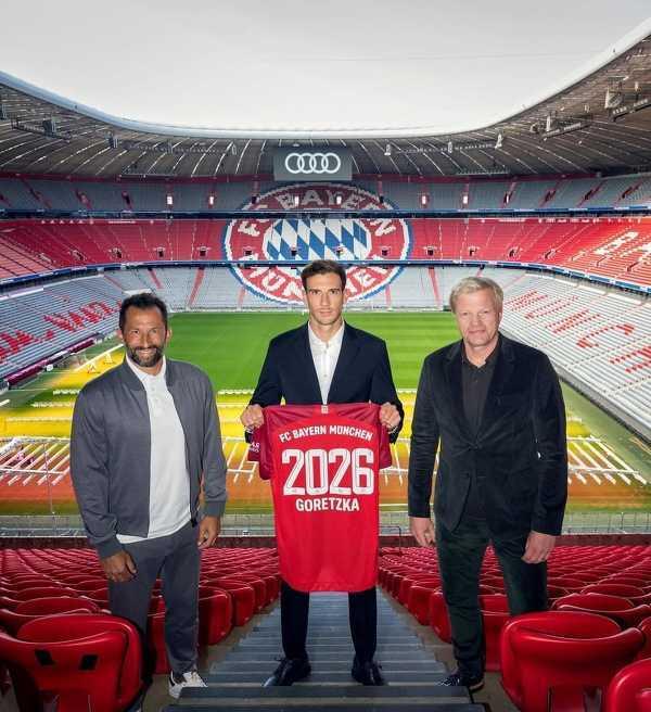 Leon Goretzka z nowym kontraktem w Bayernie