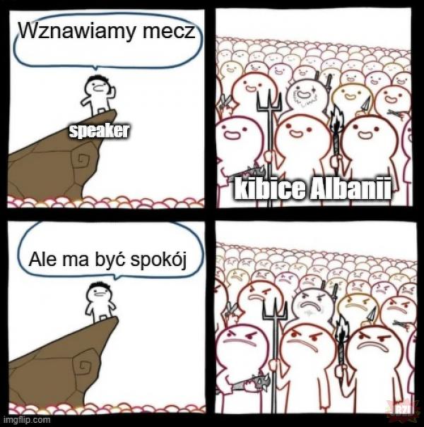 W punkt o albańskich kibicach